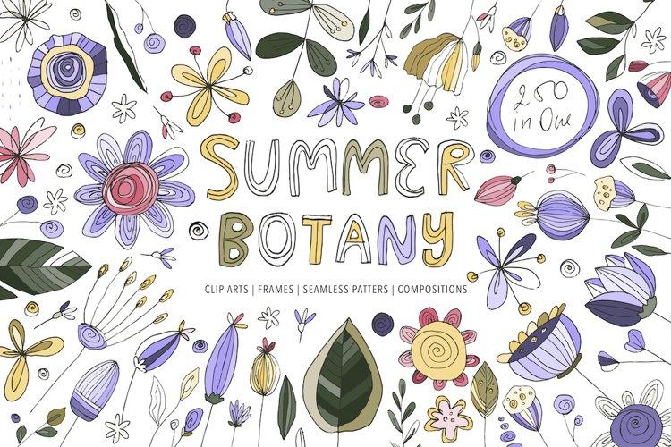 Save Show More Summer Botany. Floral Graphic Bundle.