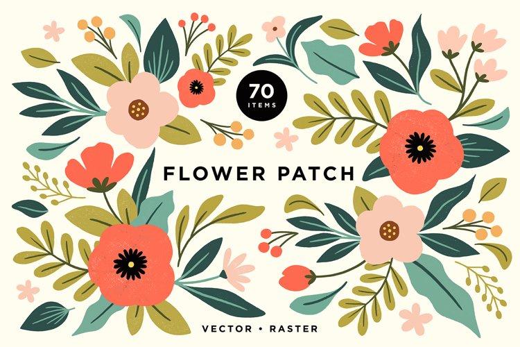 Colorful Pastel Floral Illustrations