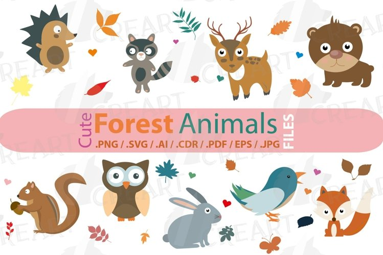 Cute Woodland Forest Animals, Baby Shower Decorations