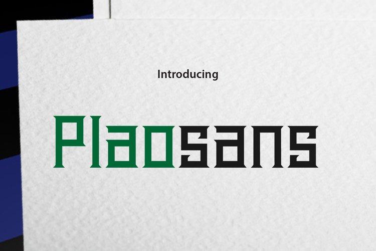Plaosans example image 1