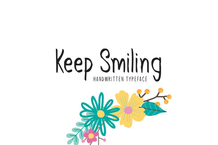 Keep Smiling example image 1