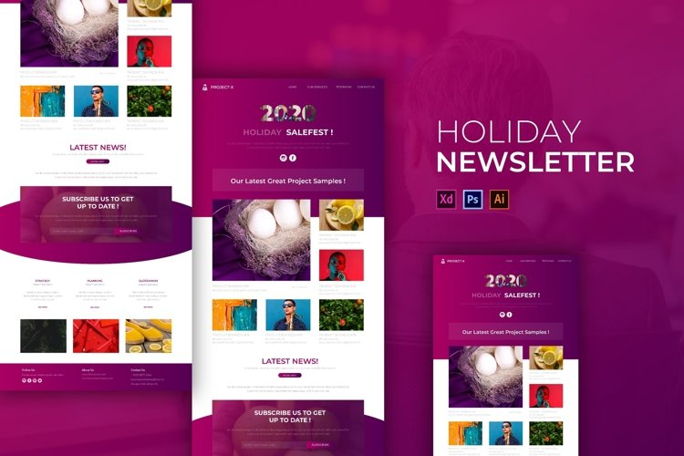 Holiday | Email Newsletter Template example image 1