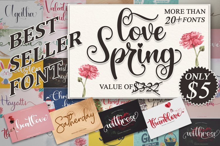 Best Seller Bundle - Love Spring example image 1