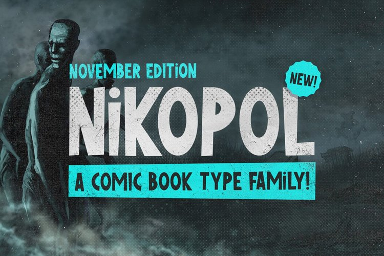 Nikopol Typeface example image 1