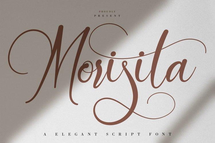 Morisita | Elegant Script Font example image 1