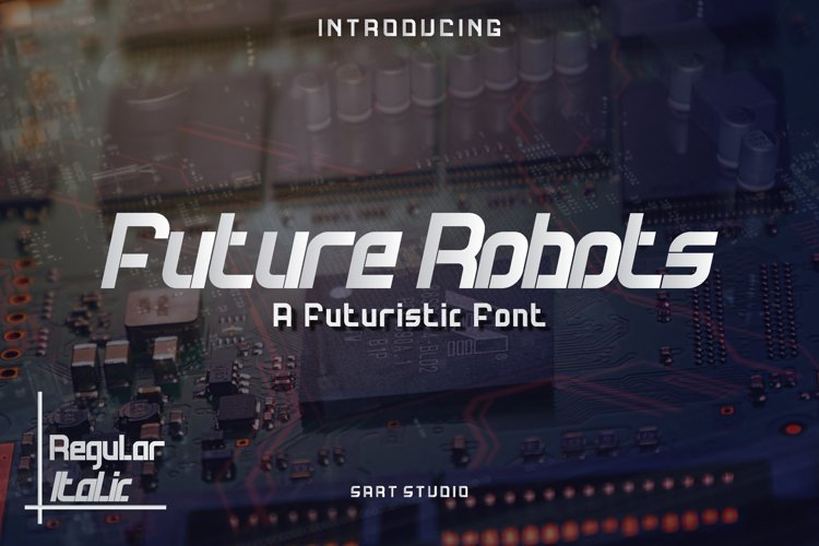 Future Techno - Modern & Sport Style Font example image 1