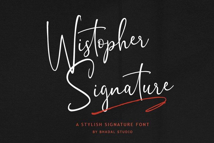 Wistopher Signature example image 1