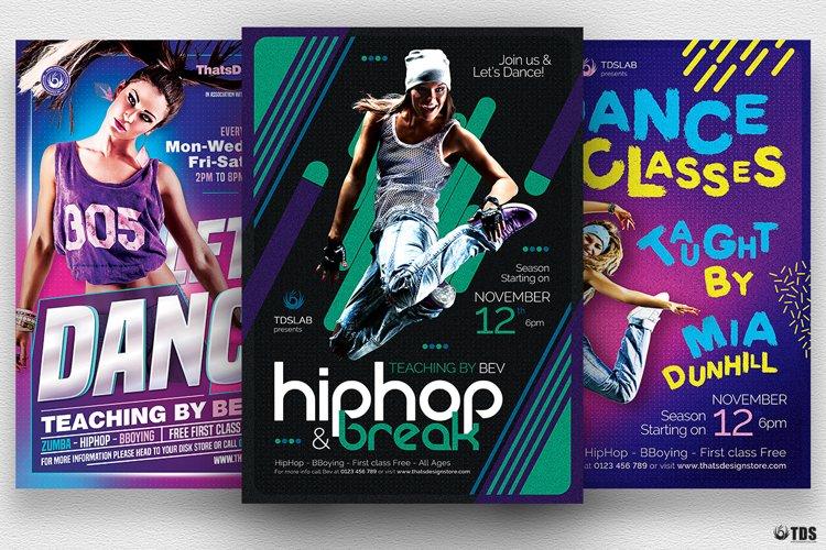 Dance Classes Flyer Bundle example image 1