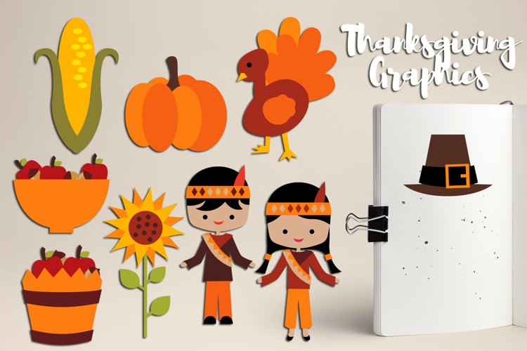 Thanksgiving Blessings, Harvest time clipart graphics