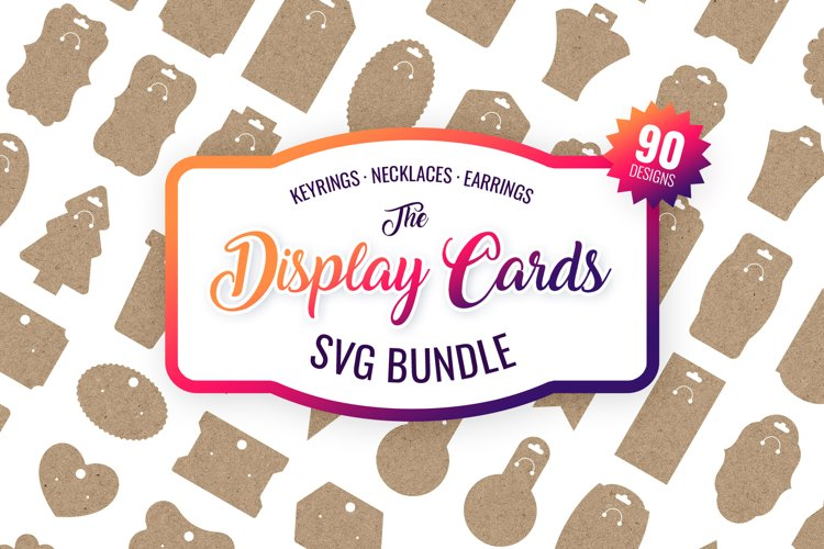 Display Cards SVG Bundle