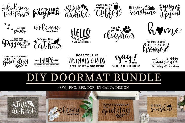 DIY Doormat SVG Cut File Bundle