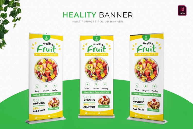 Heality   Roll Up Banner example image 1