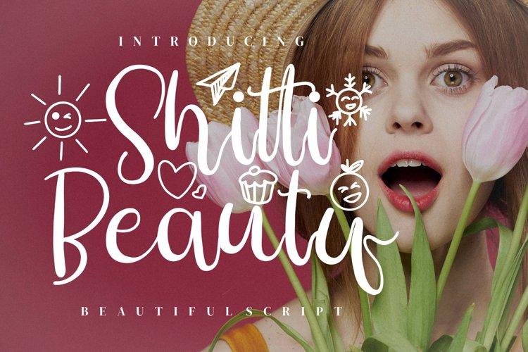 Shitti Beauty example image 1