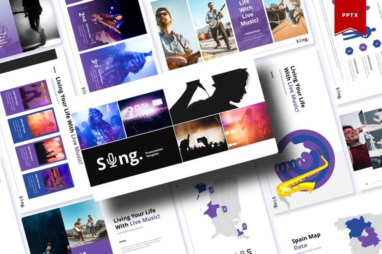 Sing | Powerpoint, Keynote, Google Slides Template example image 1