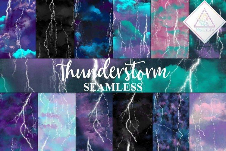 Thunderstorm Digital Paper