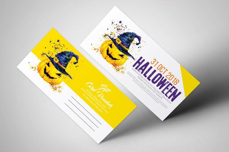 Halloween Night Gift Voucher example image 1