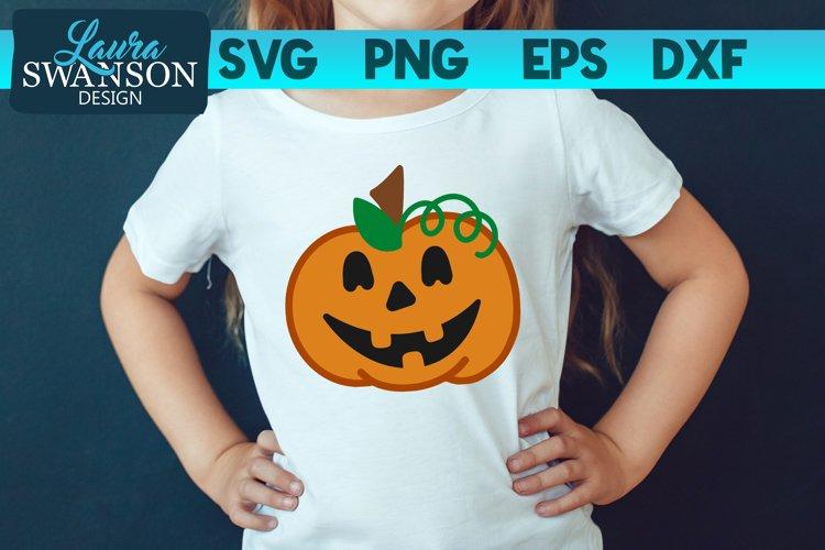 Pumpkin Face - Jack-o-lantern SVG, PNG, EPS, DXF