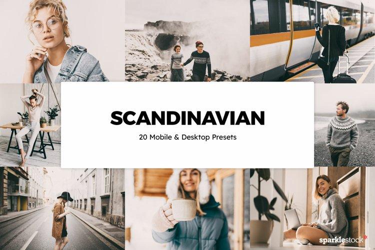 20 Scandinavian Lightroom Presets & LUTs example image 1