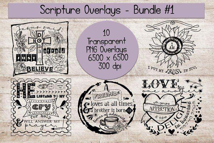 Scripture Overlays Bundle #1 example image 1