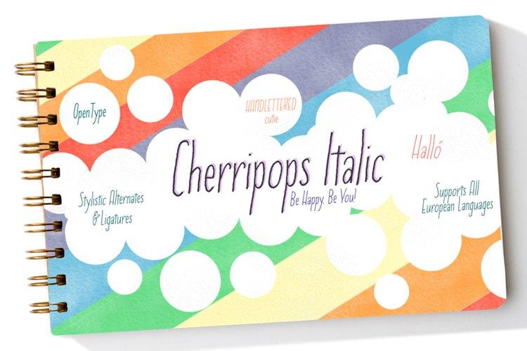 Cherripops Italic example image 1