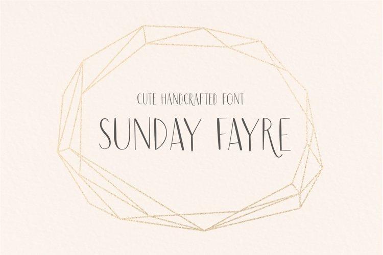 Sunday Fayre example image 1
