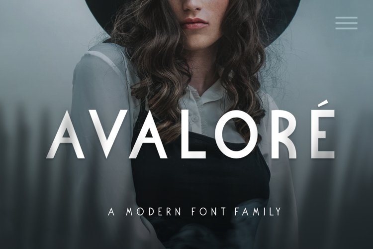 Avalore - Modern Font Family example image 1