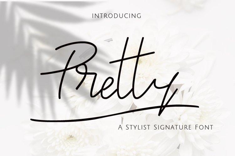 Pretty Signature example image 1