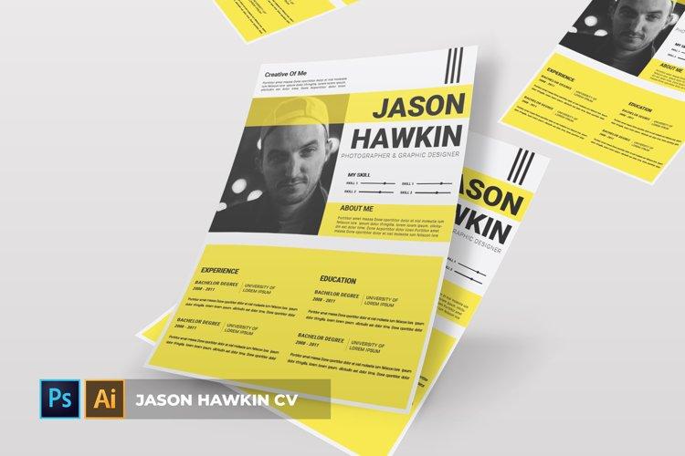 Jason Hawkin | CV & Resume example image 1