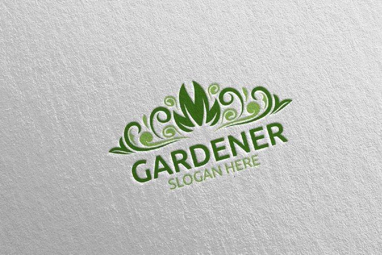 Botanical Gardener Logo Design 22 example image 1