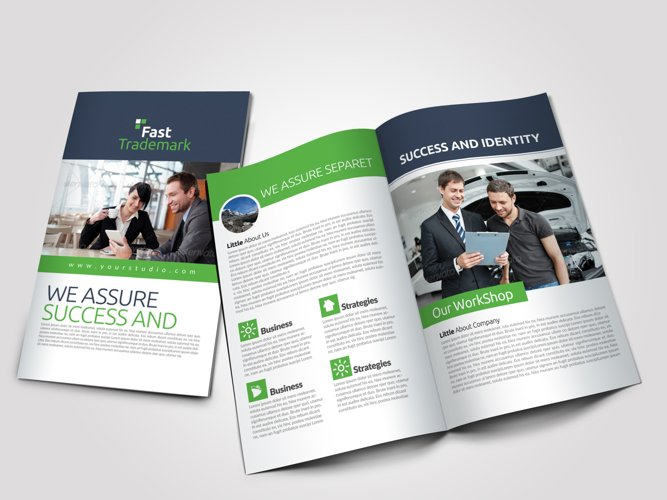 Car Repair Business Bifold Brochure example image 1
