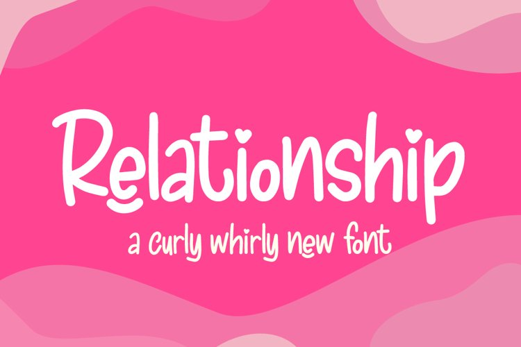Relationship Font example image 1