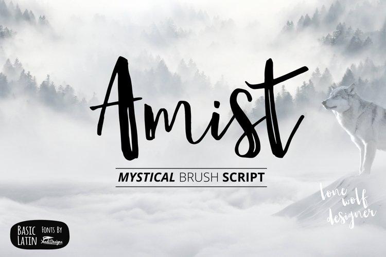 Amist Mystical Script Fonts example image 1