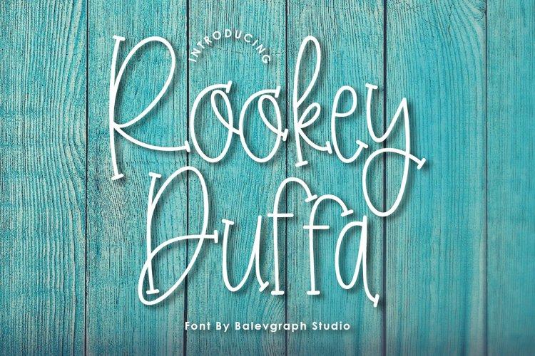 Rookey Fun Handwritten Font example image 1