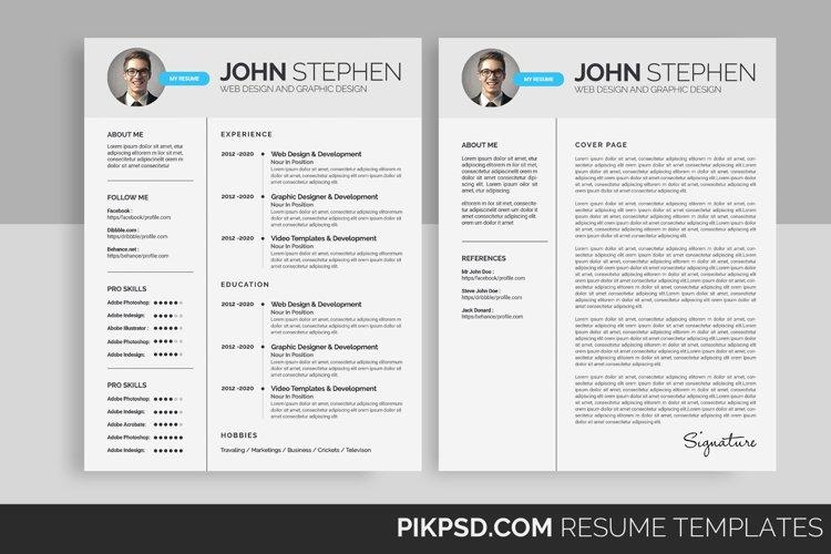 Corporate CV/RESUME  example image 1