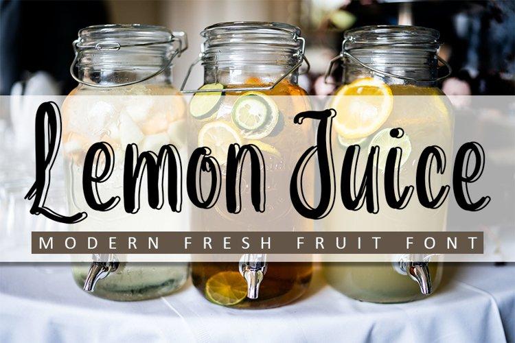 Lemon Juice example image 1