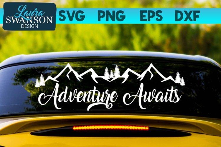 Adventure Awaits SVG | Adventure SVG | Travel SVG