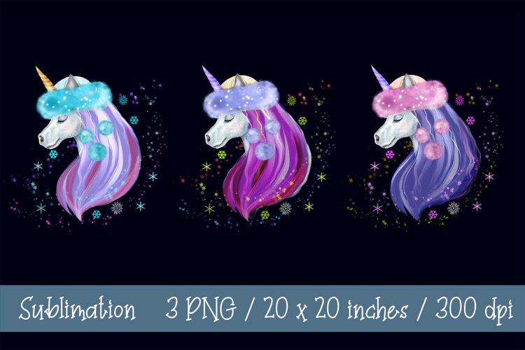Unicorn Sublimation Unicorn Clipart Unicorn Christmas