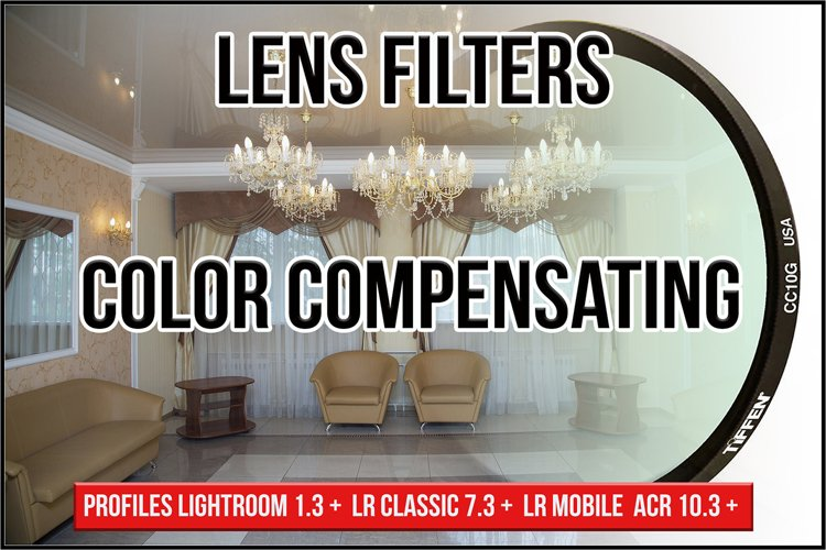 Lens Color Compensating Filters Profiles LR 7.3 ACR 10.3 example image 1