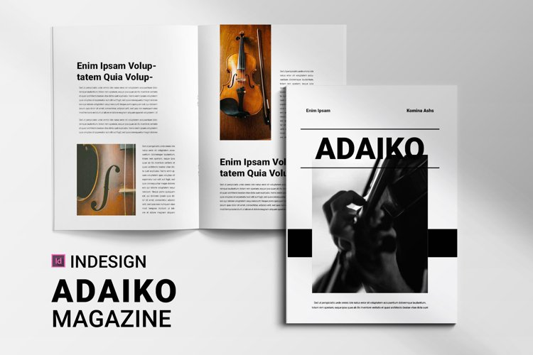 Adaiko | Magazine example image 1