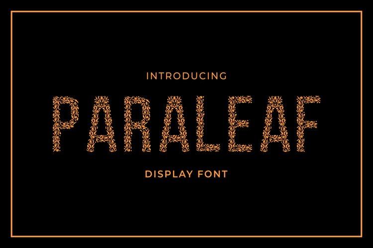 Paraleaf example image 1