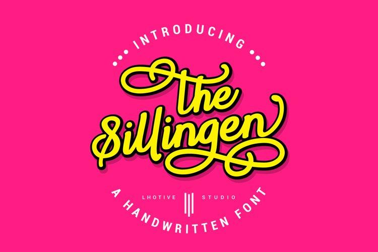 Sillingen | Handwritten Font example image 1