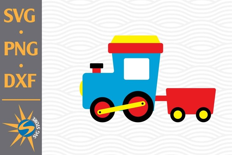 Train Birthday SVG, PNG, DXF Digital Files Include