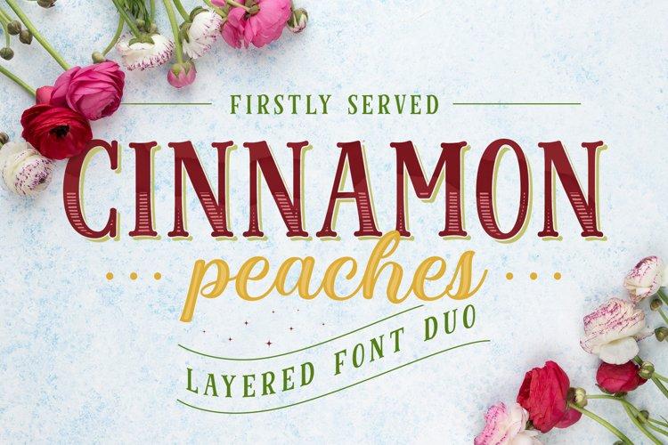 Cinnamon Peaches example image 1