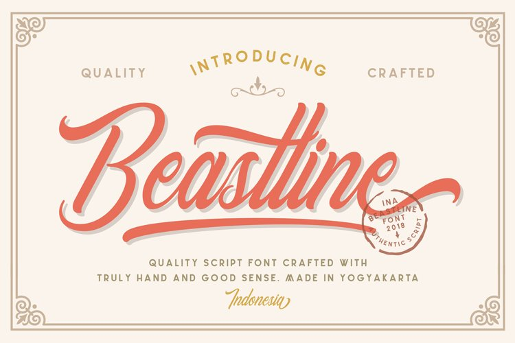 Beastline Script example image 1