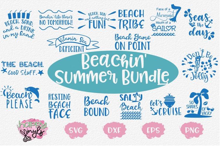 SUPER SALE! Beachin Summer Bundle - A Summer SVG Bundle