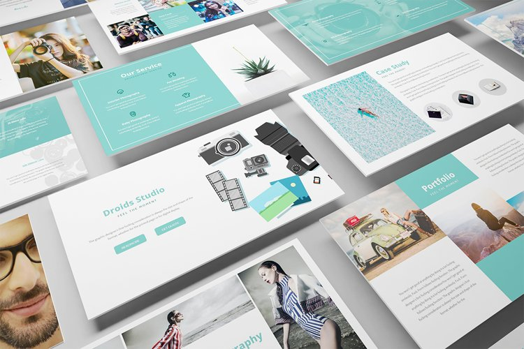 Photography Powerpoint Template example image 1