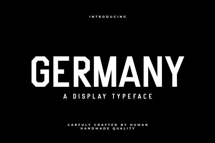 Web Font Germany
