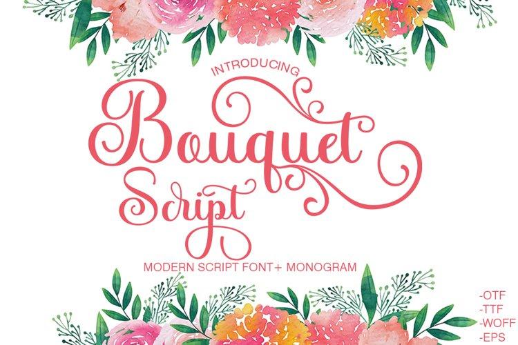 Bouquet Script example image 1