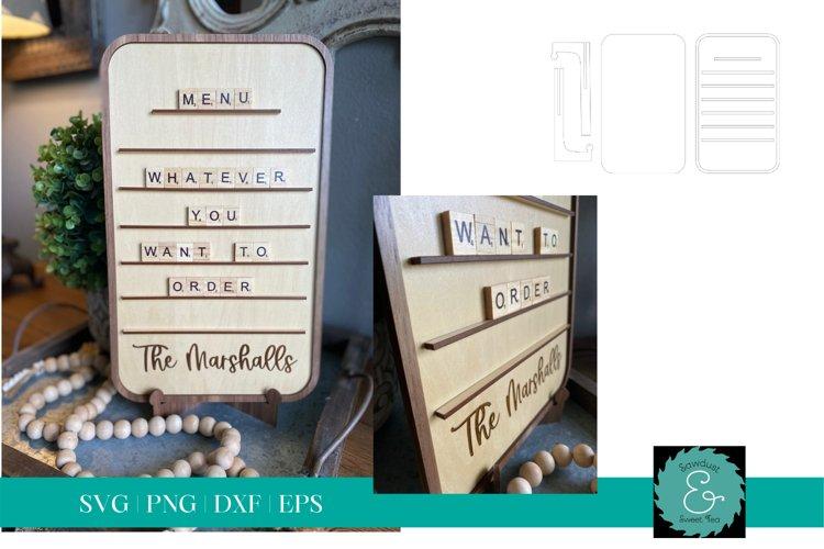 Letter Board SVG, Message Board SVG, Glowforge SVG, SVG