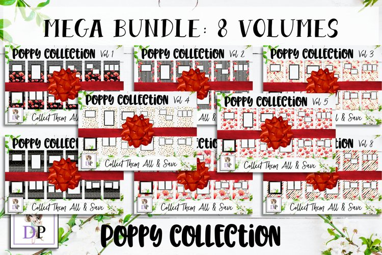 MEGA BUNDLE Photo Cover Frame Art Planner Notebook Photobook example image 1